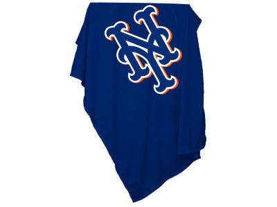 New York Mets MLB Sweatshirt Blanket