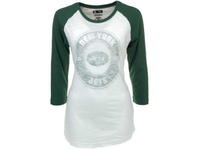 New York Jets NFL Womens Sport Princess II Raglan T-Shirt