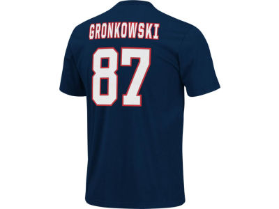 New England Patriots Rob Gronkowski NFL Men's Eligible Receiver T-Shirt