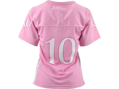 Kansas Jayhawks #10 NCAA Girls Fashion Football Jersey