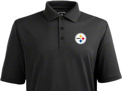 Pittsburgh Steelers NFL Pique Xtra-Lite Polo