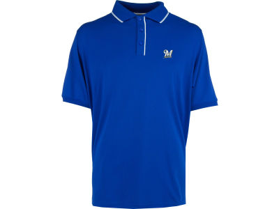 Milwaukee Brewers MLB Men's Elite Polo Shirt