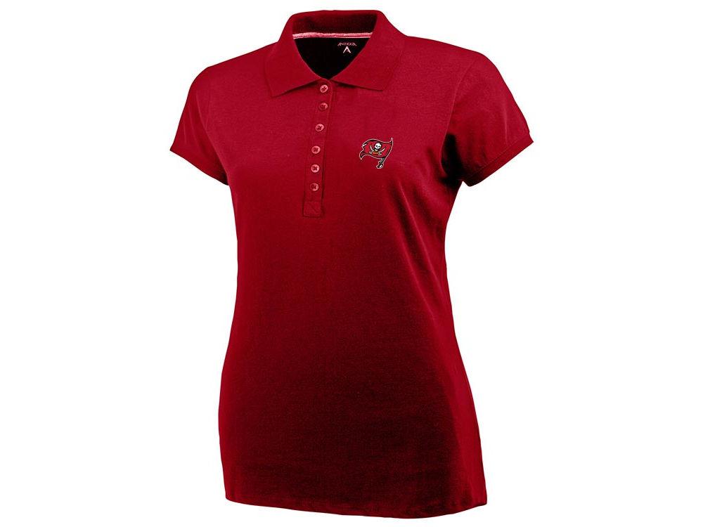 275bef07 Tampa Bay Buccaneers NFL Women's Button Polo Shirt   lids.com