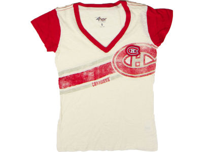Montreal Canadiens NHL CN Womens Zone Coverage T-Shirt