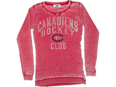 Montreal Canadiens GIII NHL CN Womens The Redzone Burnout Thermal