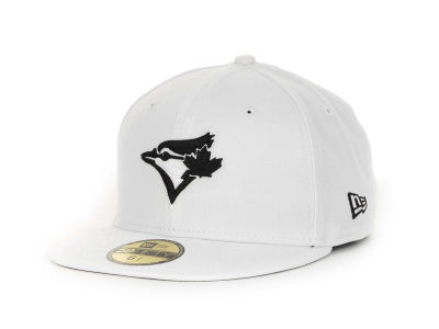 Toronto Blue Jays New Era MLB White And Black 59FIFTY Cap
