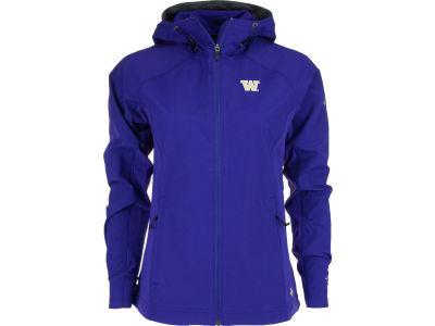 Washington Huskies NCAA Wmns Surefire Softshell Jacket
