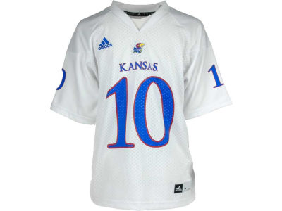 Kansas Jayhawks KU #10 adidas NCAA Youth Replica Football Jersey