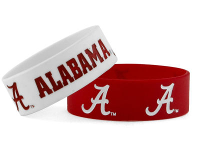Alabama Crimson Tide 2-pack Wide Bracelet