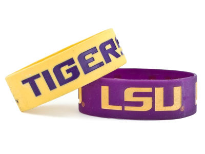 LSU Tigers 2-pack Wide Bracelet