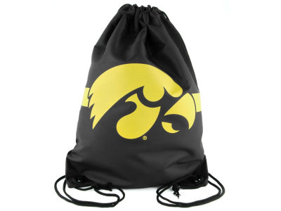 Iowa Hawkeyes Team Stripe Drawstring Bag