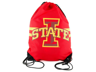 Iowa State Cyclones Team Stripe Drawstring Bag