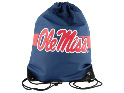 Ole Miss Rebels Team Stripe Drawstring Bag