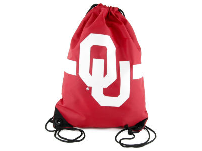 Oklahoma Sooners Team Stripe Drawstring Bag