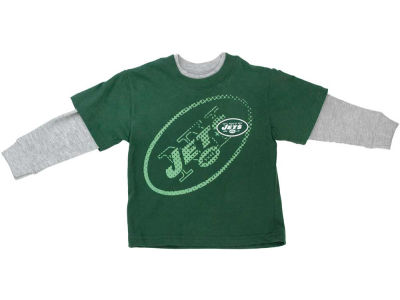 New York Jets NFL Youth Faux Layered T-Shirt