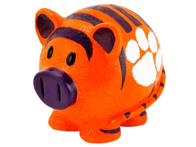 Clemson Tigers Mini Thematic Piggy Bank NCAA