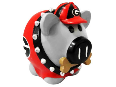 Georgia Bulldogs Mini Thematic Piggy Bank NCAA