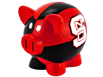 North Carolina State Wolfpack Mini Thematic Piggy Bank NCAA