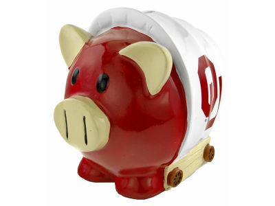 Oklahoma Sooners Mini Thematic Piggy Bank NCAA
