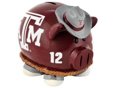 Texas A&M Aggies Mini Thematic Piggy Bank NCAA
