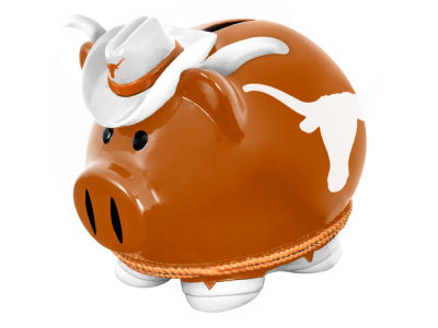 Texas Longhorns Mini Thematic Piggy Bank NCAA