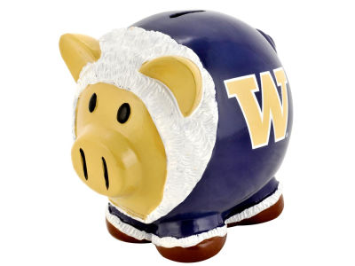 Washington Huskies Mini Thematic Piggy Bank NCAA