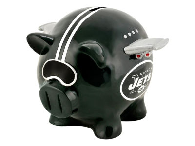 New York Jets Mini Thematic Piggy Bank-NFL