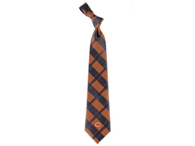 Chicago Bears Necktie Woven Poly Plaid