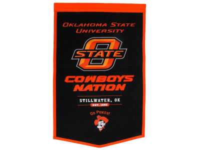 Oklahoma State Cowboys Powerhouse Banner NCAA