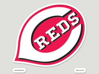 Cincinnati Reds Die Cut Color Decal 8in X 8in