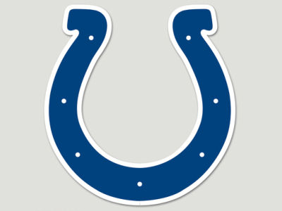Indianapolis Colts Die Cut Color Decal 8in X 8in