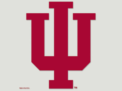 Indiana Hoosiers Die Cut Color Decal 8in X 8in