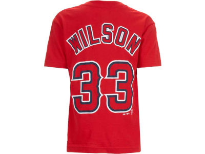 Los Angeles Angels C. J. Wilson Majestic MLB Youth Player T-Shirt
