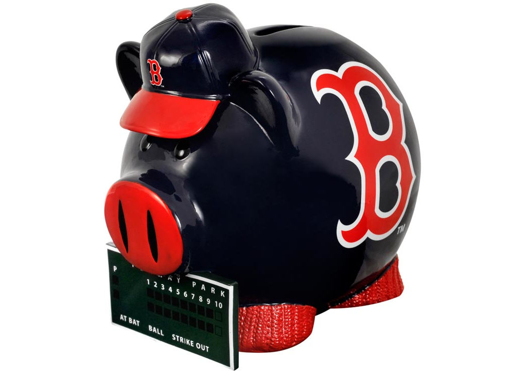 Boston Red Sox Thematic Piggy Bank  b35ed6a47