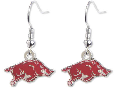 Arkansas Razorbacks Logo Earrings