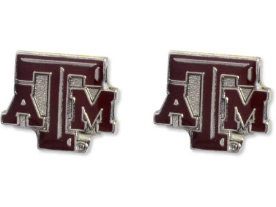 Texas A&M Aggies Logo Post Earrings