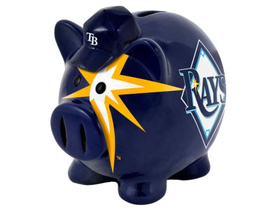 Tampa Bay Rays MLB Thematic Piggy Bank-Small