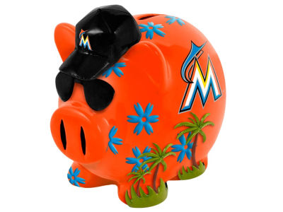 Miami Marlins MLB Thematic Piggy Bank-Small
