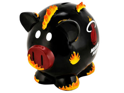 Miami Heat NBA Thematic Piggy Bank-Small