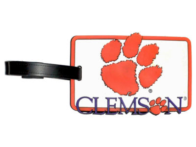 Clemson Tigers Soft Bag Tag