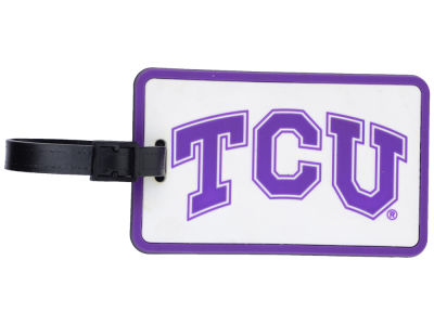 Texas Christian Horned Frogs Soft Bag Tag