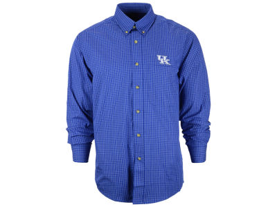 Kentucky Wildcats NCAA Men's Esteem Woven Button Up Shirt
