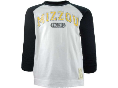 Missouri Tigers NCAA Youth Cody Long Sleeve Raglan T-Shirt