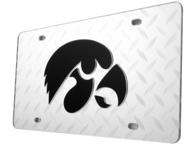 Iowa Hawkeyes Diamond Acrylic Laser Tag