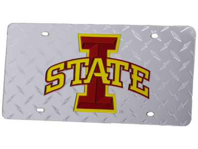 Iowa State Cyclones Diamond Acrylic Laser Tag