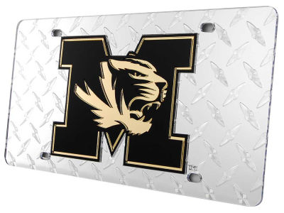 Missouri Tigers Diamond Acrylic Laser Tag