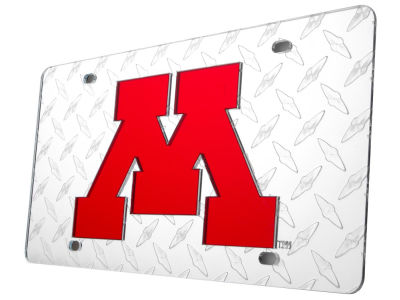 Minnesota Golden Gophers Diamond Acrylic Laser Tag