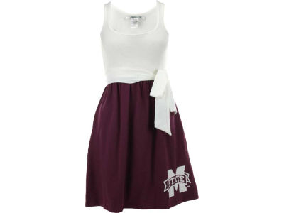 Mississippi State Bulldogs NCAA Womens Babydoll Bowtie Dress