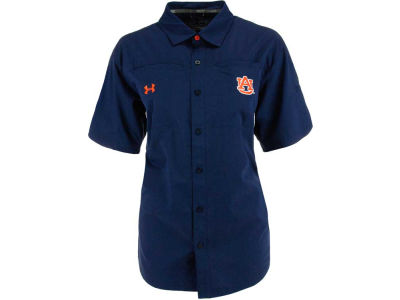 Auburn Tigers NCAA Womens Contender Button Down Shirt