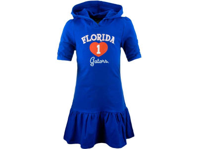 Florida Gators NCAA Girls Drop Waist Hooded Dress